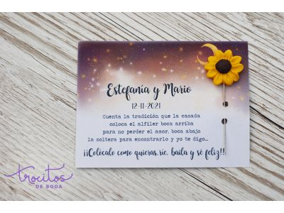Tarjetas personalizadas para alfileres STARRY NIGHT
