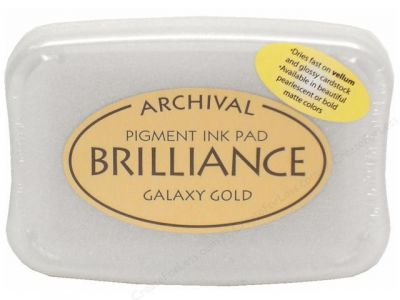 Tinta para estampar ORO Brilliance GALAXY GOLD