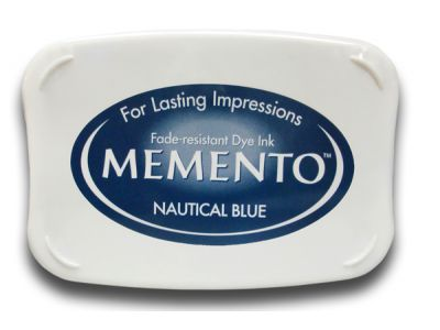 Tinta para estampar Memento NAUTICAL BLUE